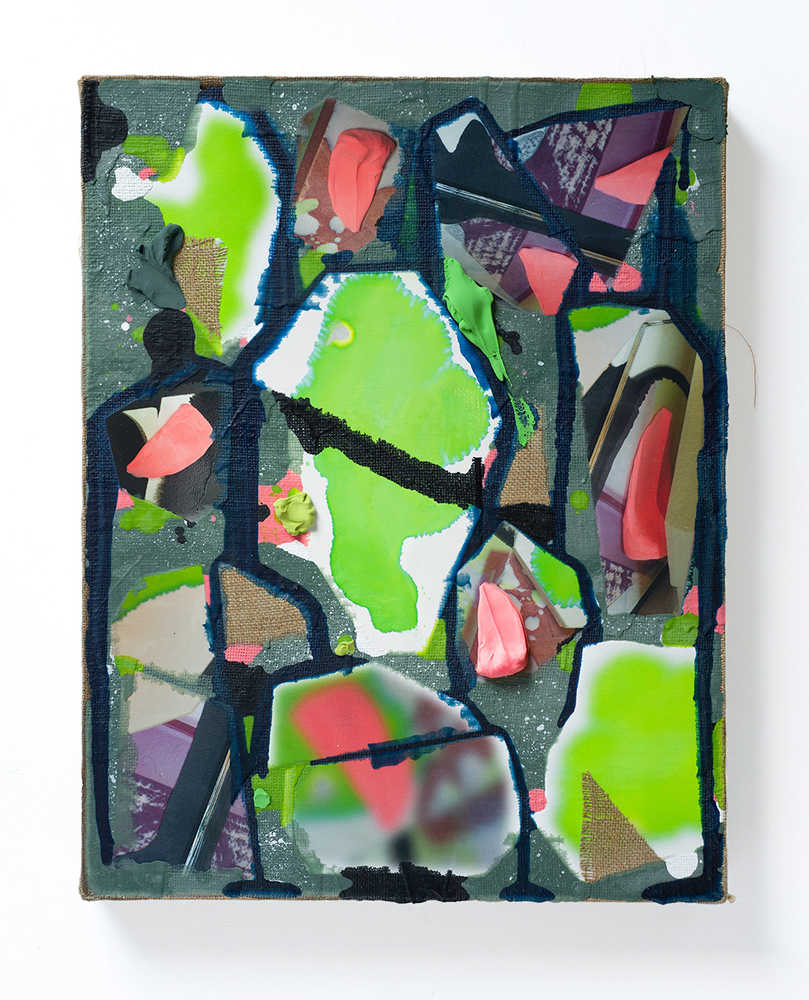 Jim Cheatle Fragmentation 51 painting